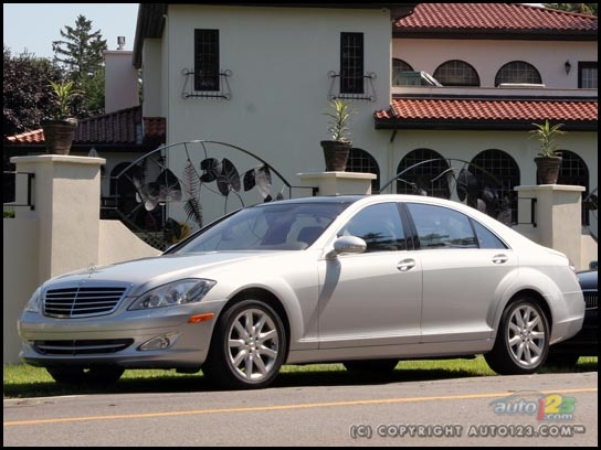 2007 mercedes benz s550 road test a for 2006 mercedes benz s550