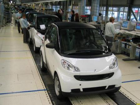 1114642start of production  mid.thumbnail Production of the new Smart Fortwo has started