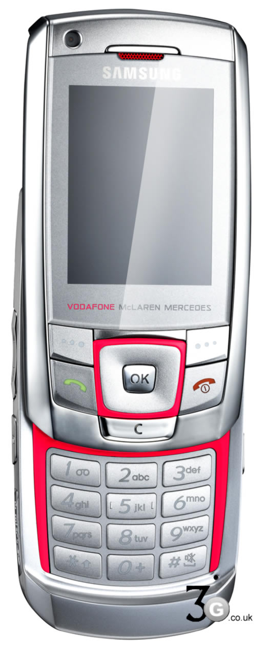 Vodafone launch McLaren Mercedes F1 mobile phones ...