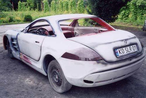 How to build a mclaren slr a mercedes for Mercedes benz build a car