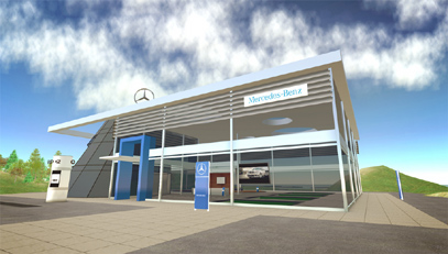 mercedesbenz in sl 21 Mercedes Benz Opens Virtual Brand World in Second Life