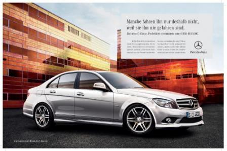 113703307c710 01  mid.thumbnail Mercedes Benz launches integrated marketing campaign for C Class