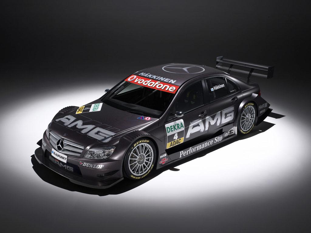 Mercedes benz dtm c class a mercedes for Mercedes benz race car