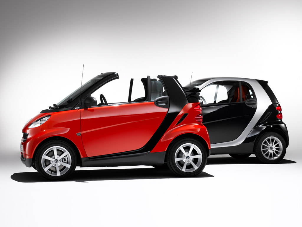 Super smart zero emission city car a for Smart mercedes benz