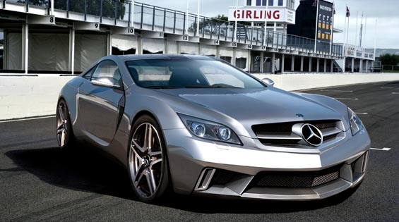 700HP Mercedes supercar