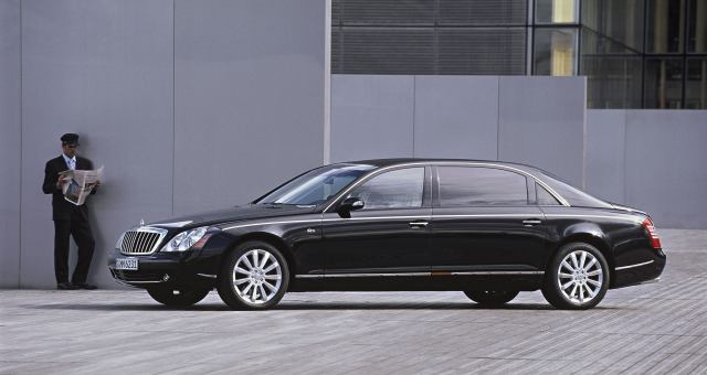 maybach 62s Top 10 Cars Driven Mostly by Men