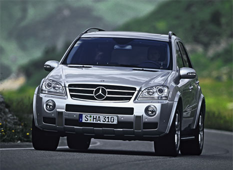 since the market launch of the second generation m class in april 2005 mercedes benz has delivered 250000 models of the suv to customers around the world - Mercedes Suv 2005