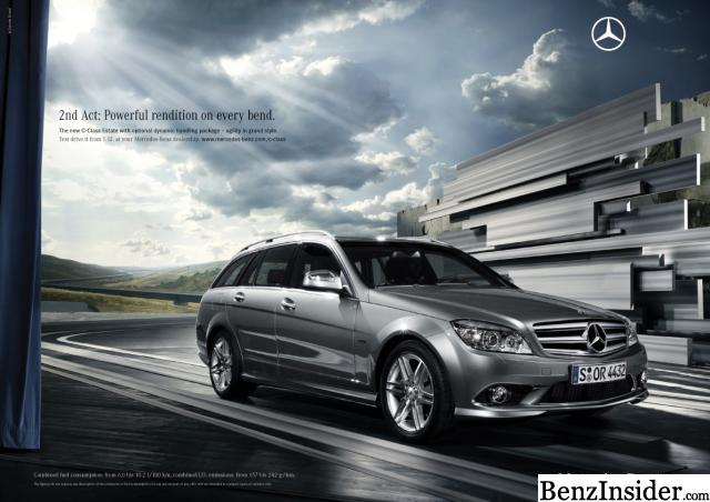 Mercedes launches marketing campaign for new c class for Mercedes benz class action settlement website