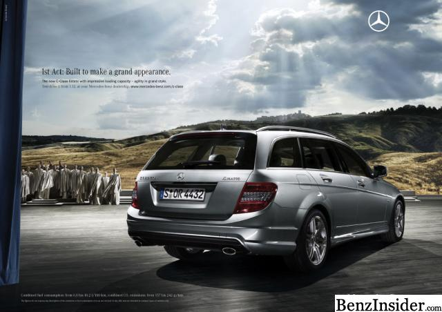 G Wagon Maybach >> Mercedes Launches Marketing Campaign for New C-Class