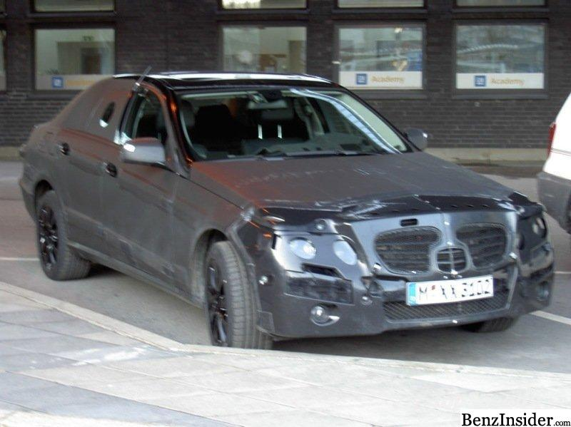 Spy shots of the new 2010 Mercedes-Benz E-class have arrived.