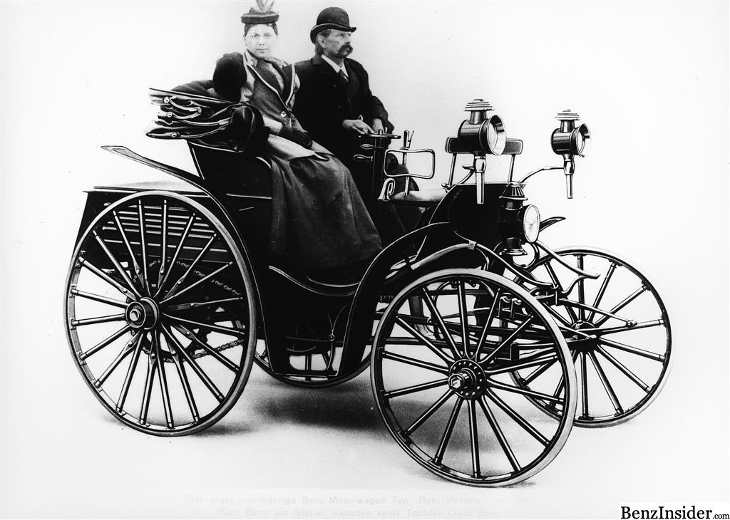 Day in History: Carl Benz and his double-pivot steering ...