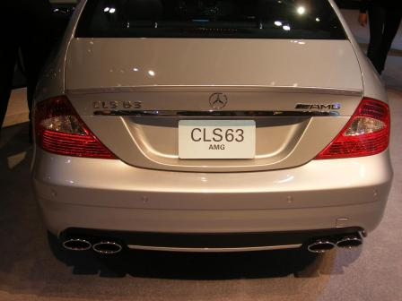 cls 63 amg.thumbnail Mercedes Stars at Show