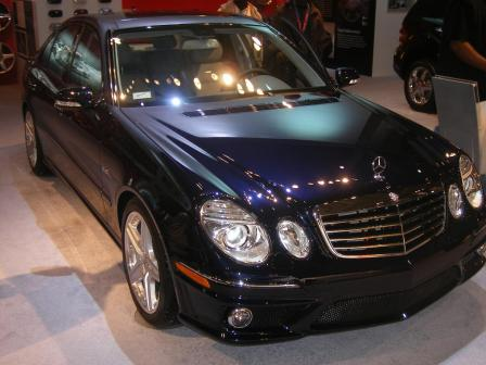 e63 amg 2.thumbnail Mercedes Stars at Show