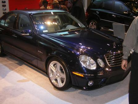 e63 amg.thumbnail Mercedes Stars at Show