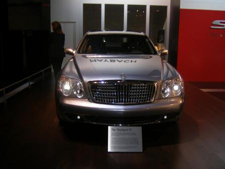 maybach 57.thumbnail Mercedes Stars at Show