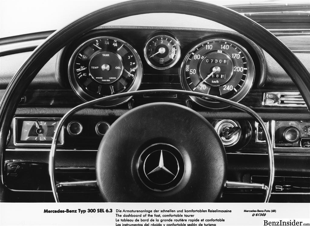 Top Fastest Cars >> 1968 Geneva Motor Show: Mercedes-Benz 300 SEL 6.3 ...