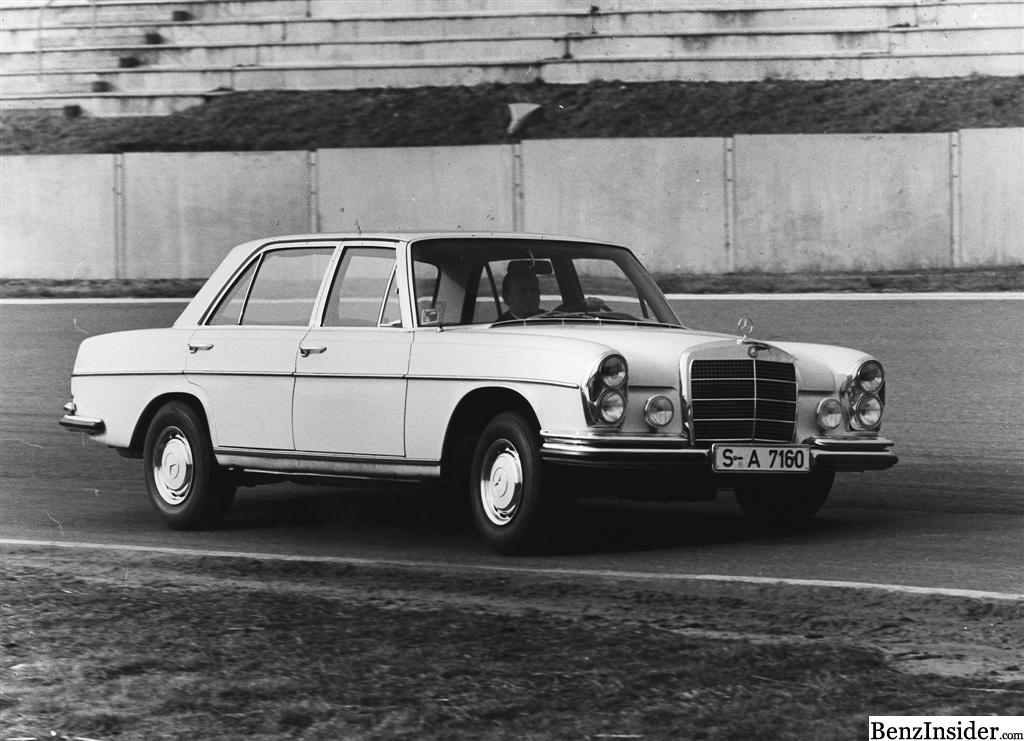 1968 geneva motor show mercedes benz 300 sel 6 3 for Motor mercedes benz