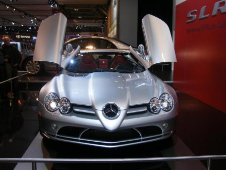 slr mcclaren roadster.thumbnail Mercedes Stars at Show