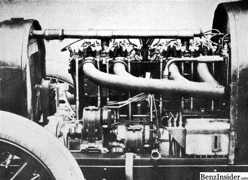 Mercedes Heritage Cylinder Engine on Knight Sleeve Valve Engine