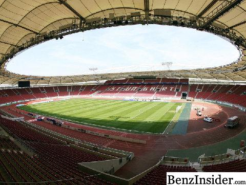 stuttgart stadium soon to be mercedes benz arena a mercedes benz fan blog. Black Bedroom Furniture Sets. Home Design Ideas