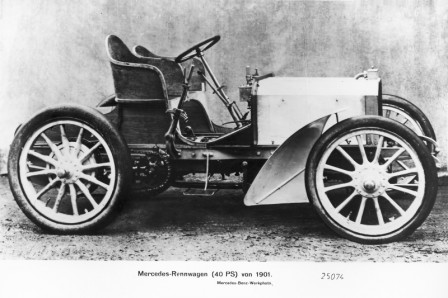 Original Mercedes, one of the first
