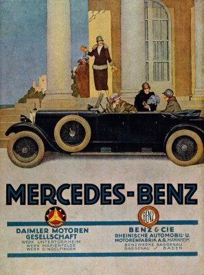 Mercedes Benz old ad