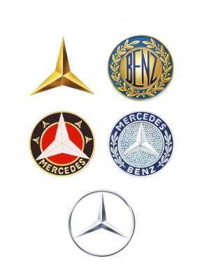 Old Mercedes benz logos