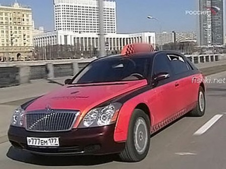 8 448x336 Porsche Cayenne and Maybach Luxury Taxi Cabs in Moscow