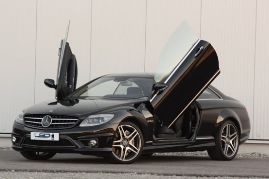lsd mercedes cl 535x356 LSD doors render new look and entry for your CL Class