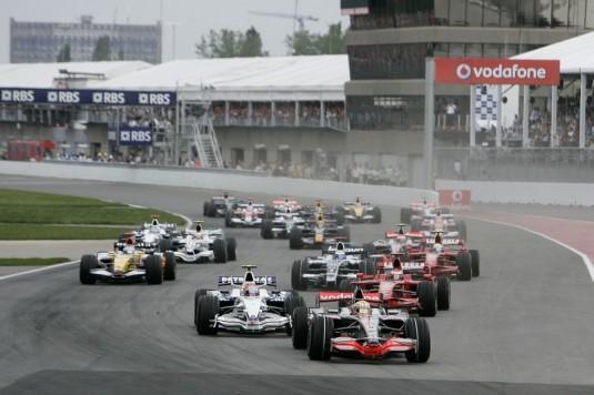 Formula 1 GP in Canada