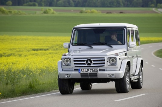 mercedes benz g clsss g55 amg 06 535x355 Introducing the Mercedes Benz G 55 AMG