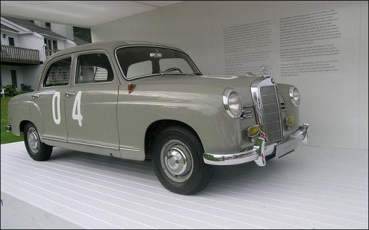 1955mb 180d 535x333 Mercedes Benz diesel milestones in the last century