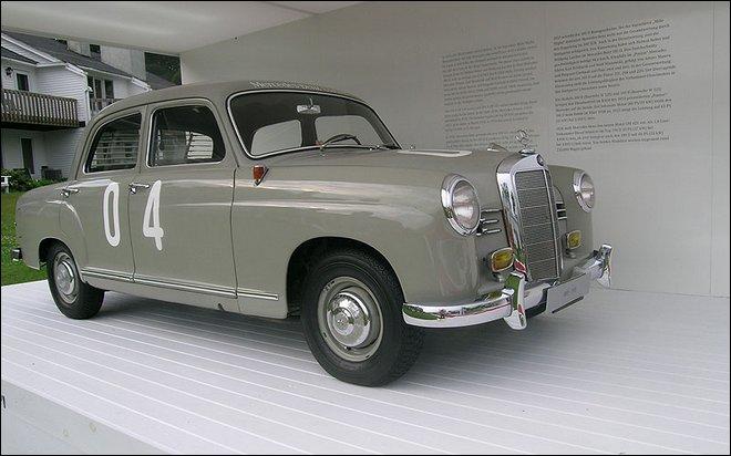 1961 Mercedes-Benz 180D Sedan.