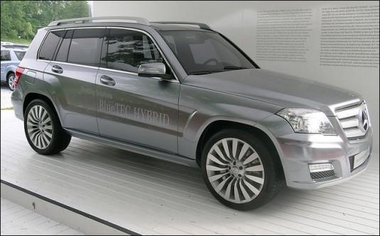 2008 mercedes benz vision glk concept 535x333 Mercedes Benz diesel milestones in the last century