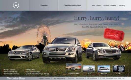 newmbusawebsite1 535x326 MBUSA.com website is finally redesigned