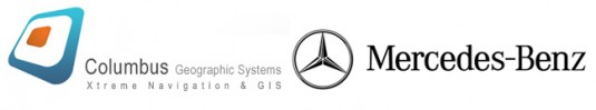 columbus gis mercedes benz logo 535x99 Mercedes Benz working with Columbus on off road navigation system