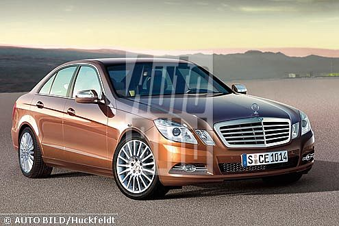 mercedes benz e class autobild computer illustration What do you think about the new E Class?