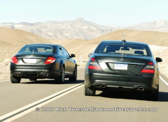Mercedes-Benz CL and S-Class spy shots