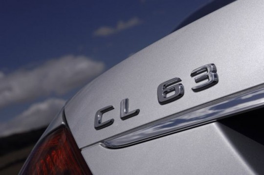 Mercedes CL-Class badge back logo