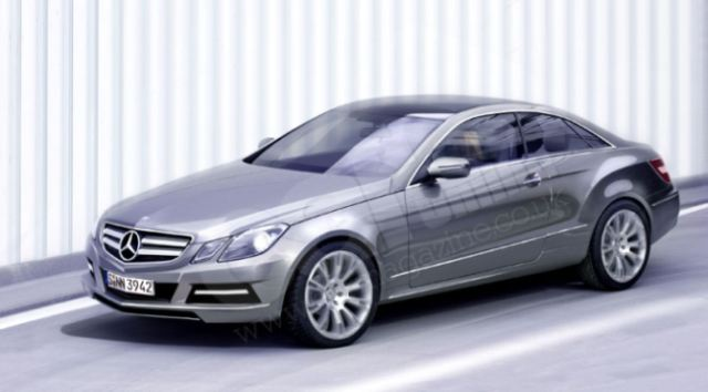 The E-class Coupe will be unveiled