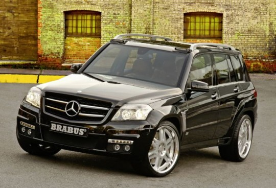 mercedes benz glk brabus widestar sema031 540x368 The Mercedes Benz GLK at SEMA 2008: Brabus GLKWidestar