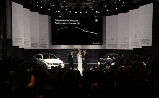 Weltpremiere des Mercedes-Benz CLC bei der MB-Fashion Week Berli