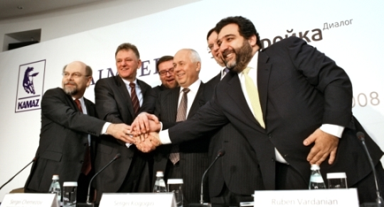 Daimler Trucks acquires 10% of Russian truck manufacturer Kamaz