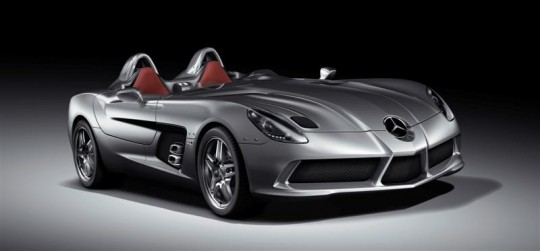 mercedes benz unveils the new slr stirling moss3 540x251 Mercedes Benz unveils the new SLR Stirling Moss