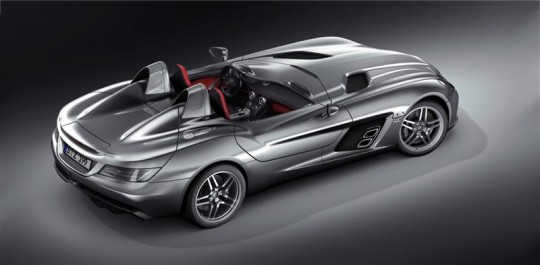 mercedes benz unveils the new slr stirling moss5 540x265 SLR roadster wont be available in the US market