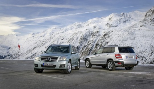 mercedes benz glk winter driving fun12 540x311 Winter driving fun in the Mercedes Benz GLK