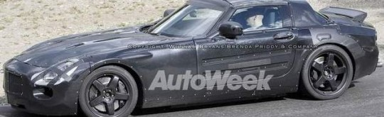 mercedes benz slc spy shots 540x165 Fresh spy shots of the 2011 Mercedes Benz SLC