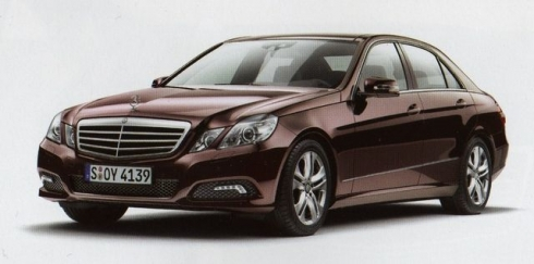 new mercedes benz e class avantgarde New Mercedes E Class brochure scans have been leaked