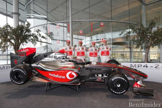 vodafone mclaren mercedes mp4 24 10 540x359 The new Vodafone McLaren Mercedes MP4 24