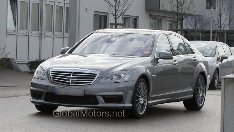 Facelifted 2010 mercedes benz s63 amg on german streets for Mercedes benz s class amg 2010